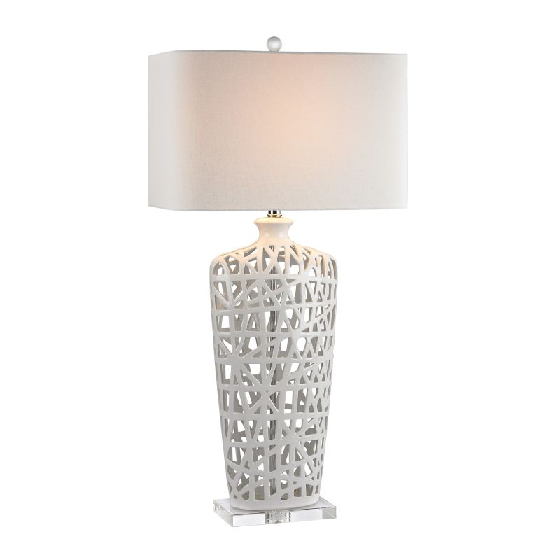 "Dimond Lighting D2637 1 Light 36"" Height Table Lamp from the Ceramic"