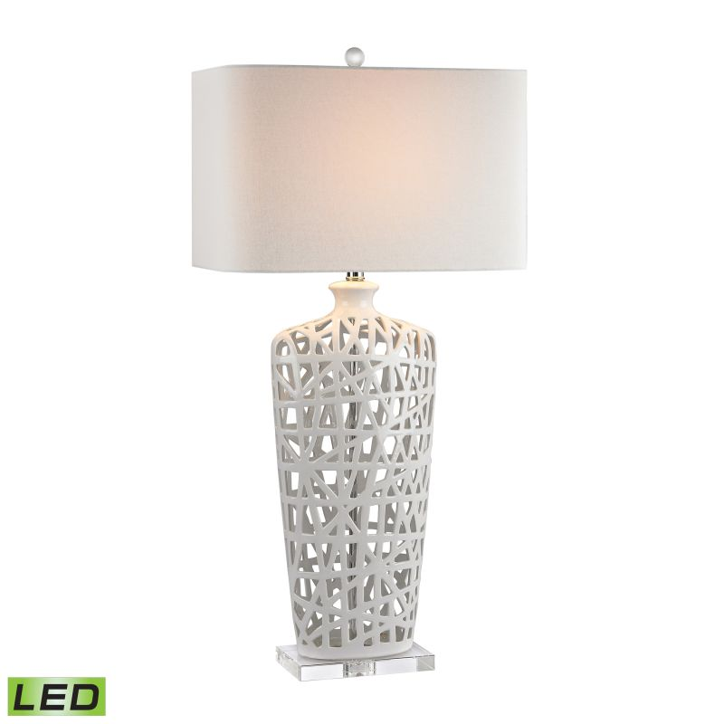 "Dimond Lighting D2637-LED 1 Light 36"" Height LED Table Lamp from the"