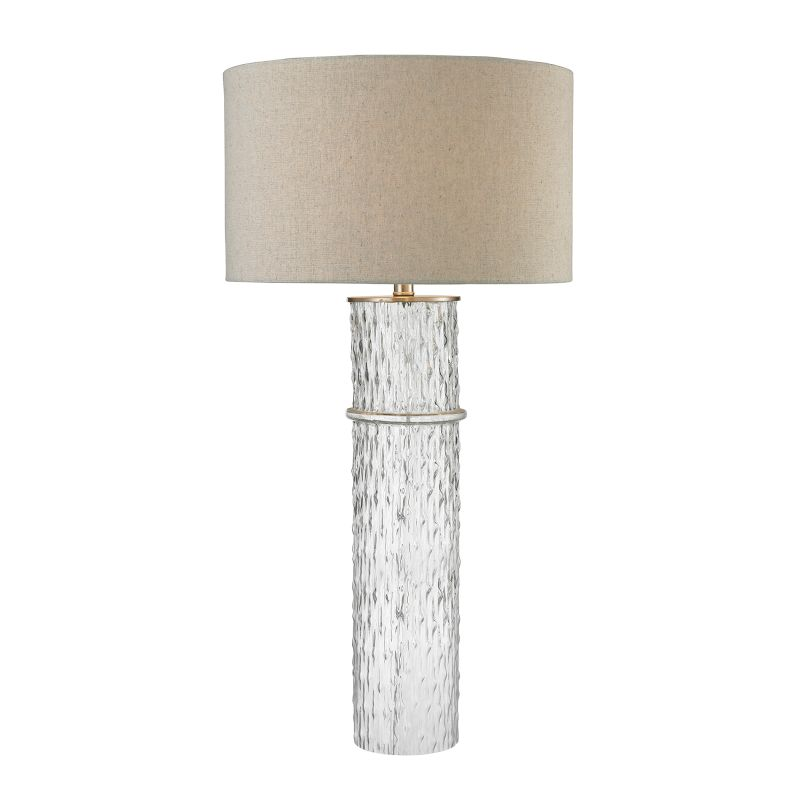Dimond Lighting D2653 1 Light Table Lamp from the Two Tier Glass