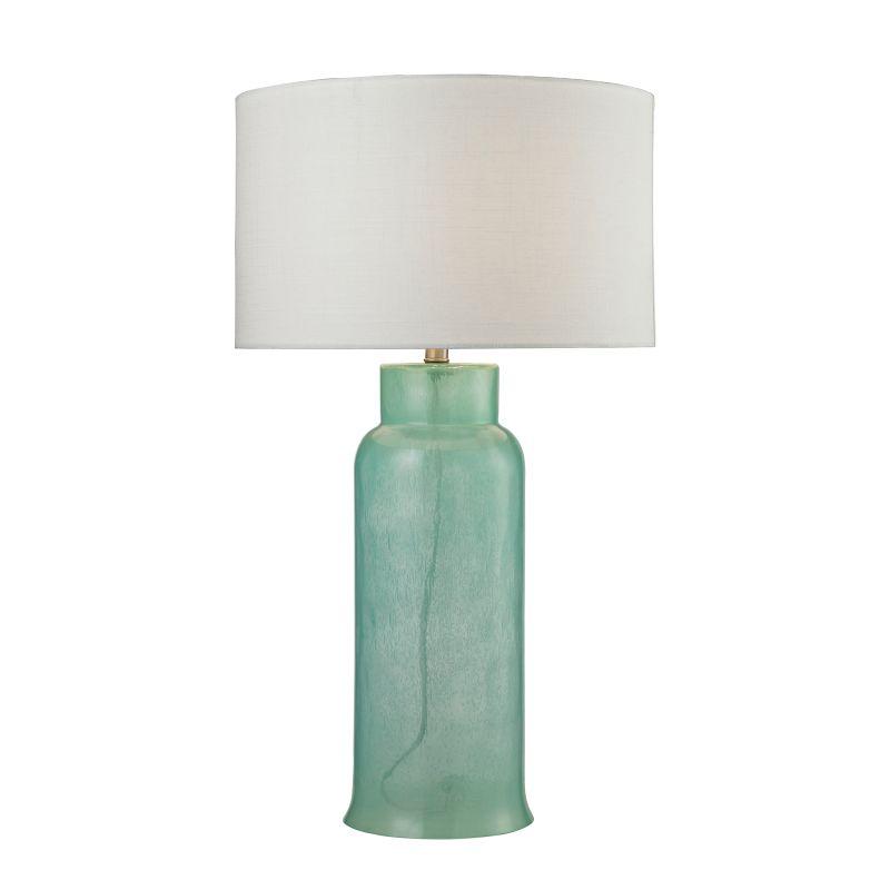Dimond Lighting D2654 1 Light Table Lamp from the Water Glass Bottle