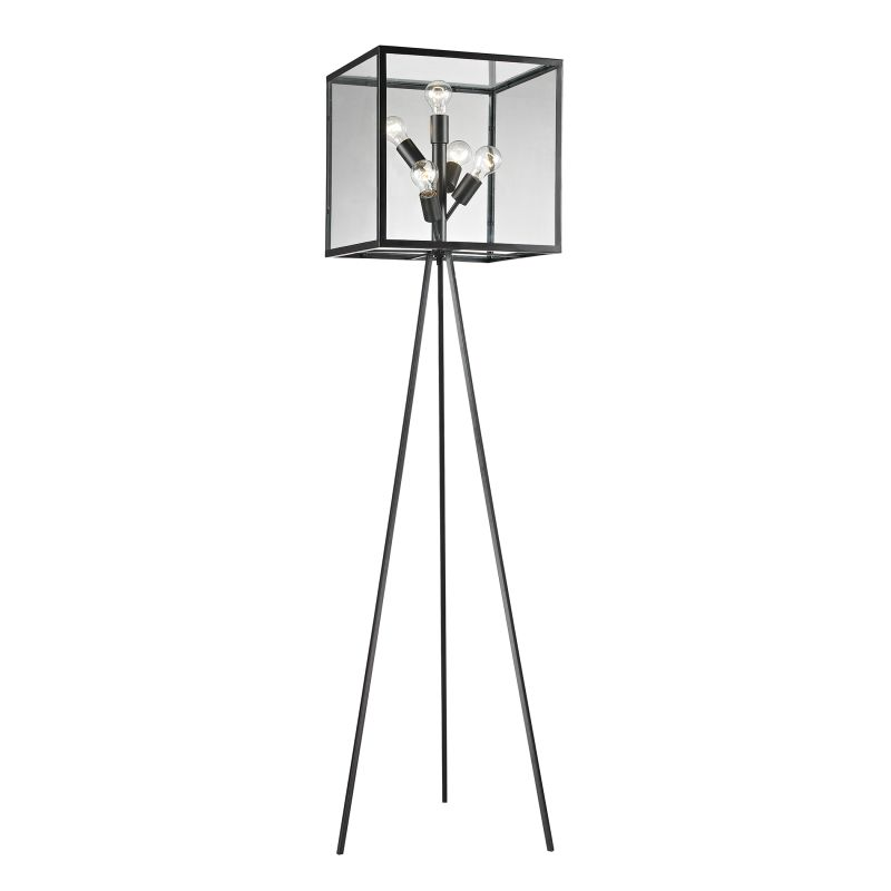 Dimond Lighting D2657 5 Light Tripod Floor Lamp from the Workshop