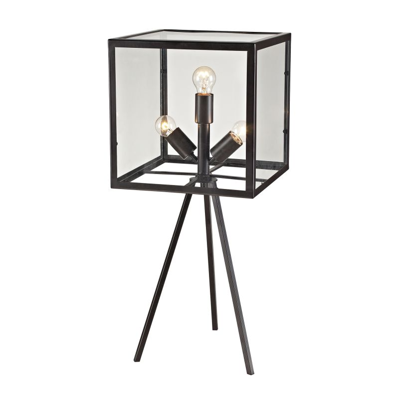 Dimond Lighting D2658 3 Light Tripod Table Lamp from the Workshop