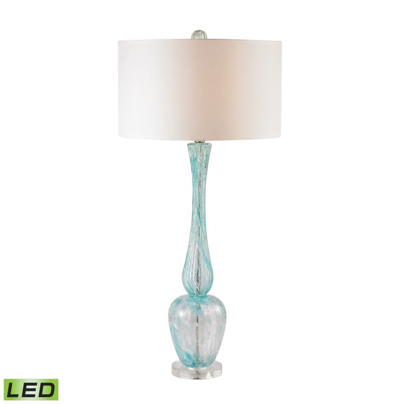 Dimond Lighting D2662-LED 1 Light LED Buffet Table Lamp in Light Blue
