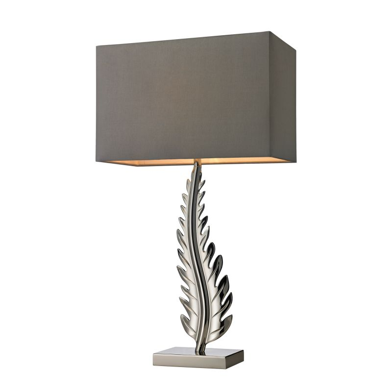 Dimond Lighting D2683 1 Light Accent Table Lamp in Polished Nickel