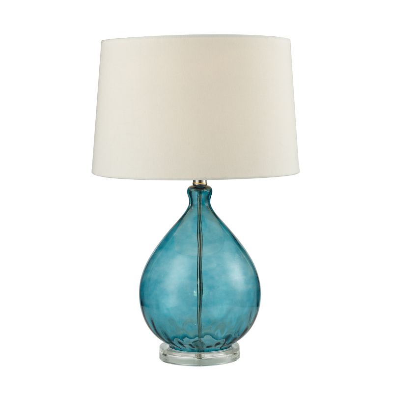 Dimond Lighting D2692 1 Light Table Lamp in Teal from the Wayfarer Sale $178.00 ITEM: bci2585615 ID#:D2692 UPC: 748119073699 :