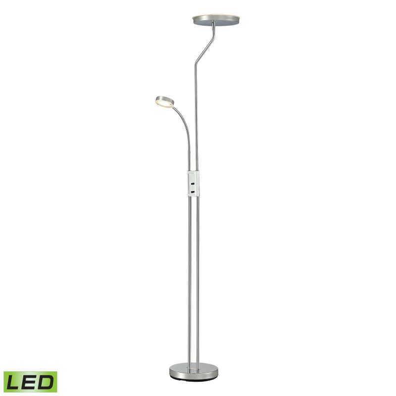 Dimond Lighting D2702 2 Light Accent Floor Lamp from the Malone