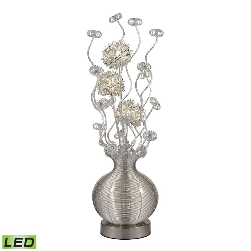 Dimond Lighting D2717 5 Light Accent Table Lamp from the Lazelle