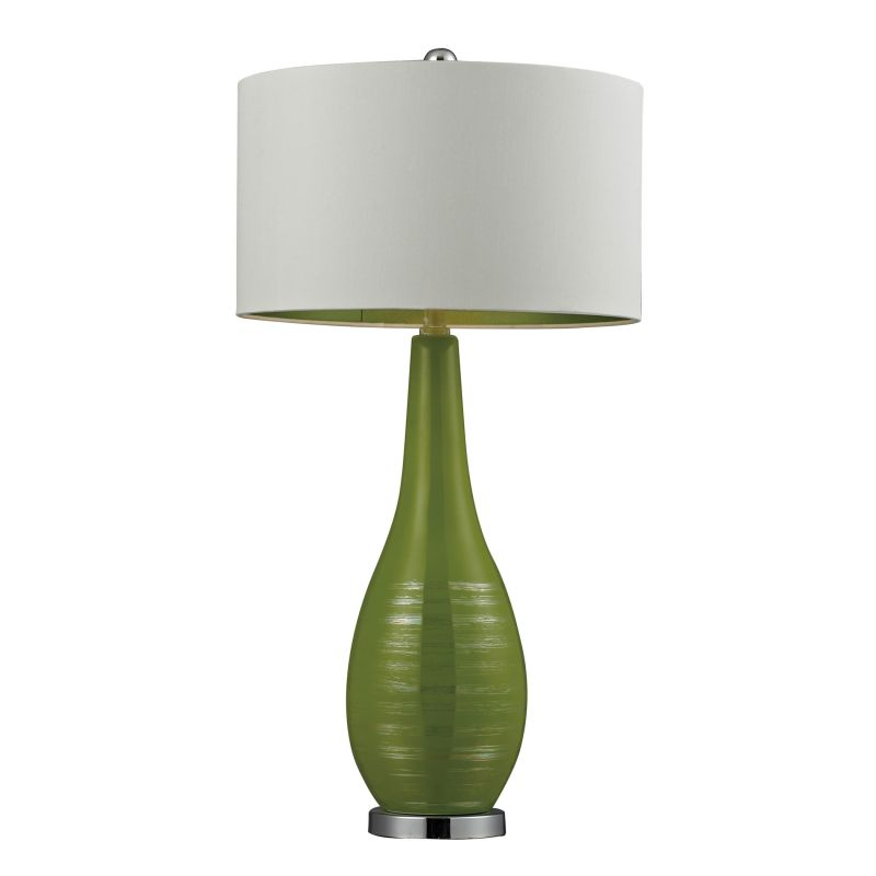 Dimond Lighting D272-LED 1 Light LED Table Lamp with White Shade Lime Sale $238.00 ITEM: bci2672818 ID#:D272-LED UPC: 748119081168 :