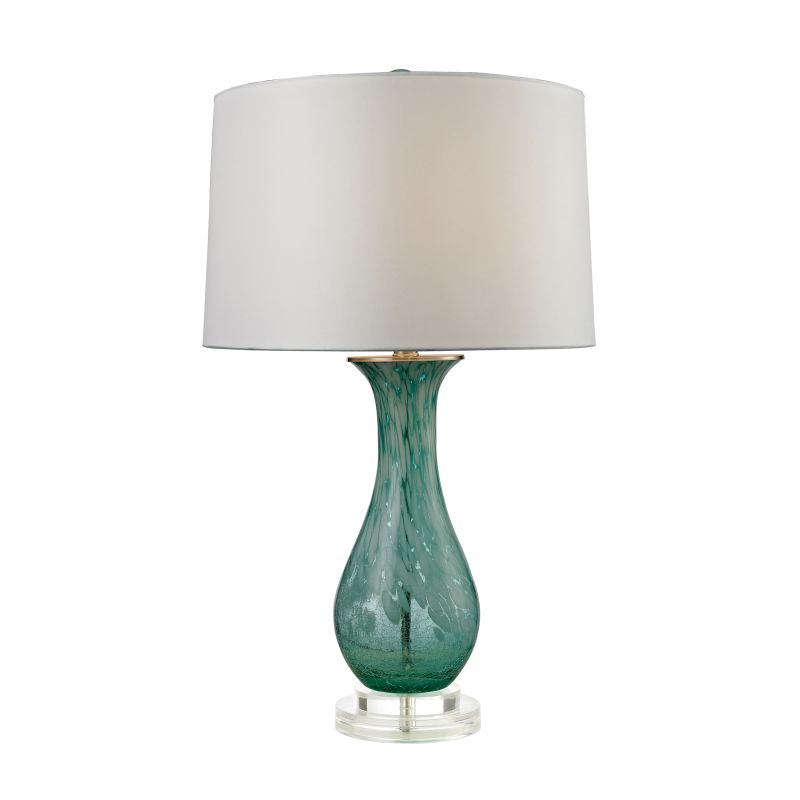 Dimond Lighting D2727 1 Light Table Lamp from the Swirl Glass