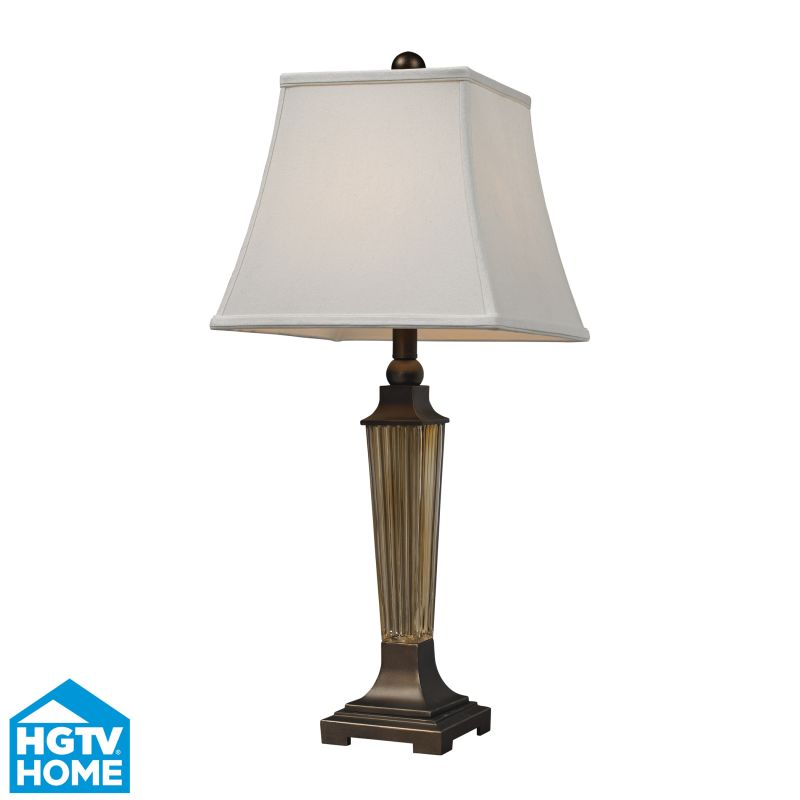 Dimond Lighting HGTV133 1 Light Table Lamp from the HGTV Quensbury