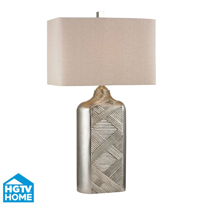 Dimond Lighting HGTV345 1 Light Table Lamp from the HGTV Ring Lamp