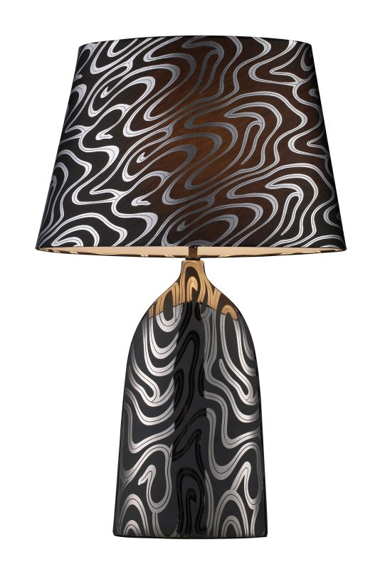 Dimond Lighting D1449P 1 Light Table Lamp from the Marietta Collection