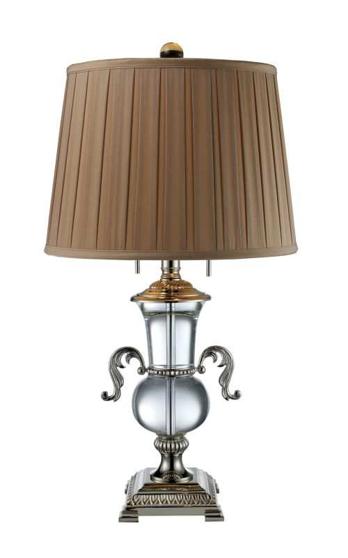 Dimond Lighting D1810 2 Light Table Lamp from the Raven Collection