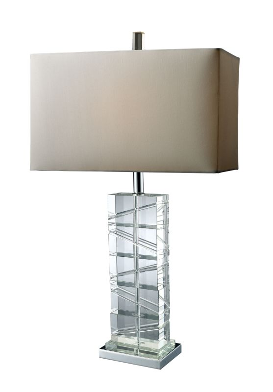 "Dimond Lighting D1813 1 Light 23"" Height Table Lamp from the Avalon"