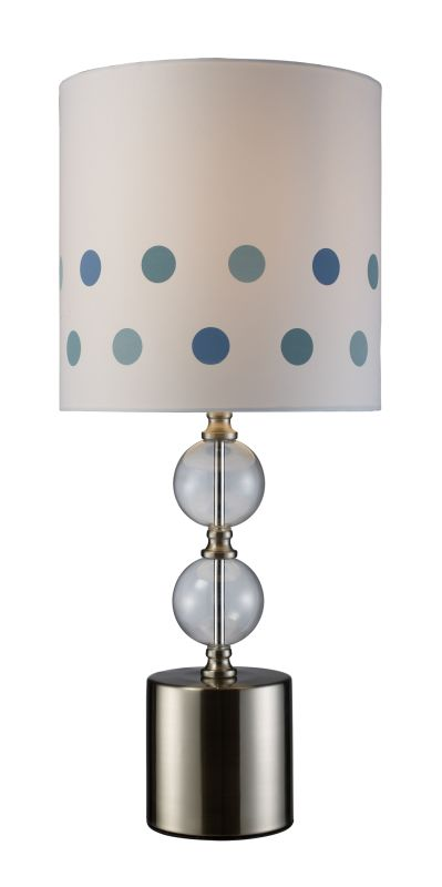 Dimond Lighting D1838 1 Light Accent Table Lamp from the Fairfield