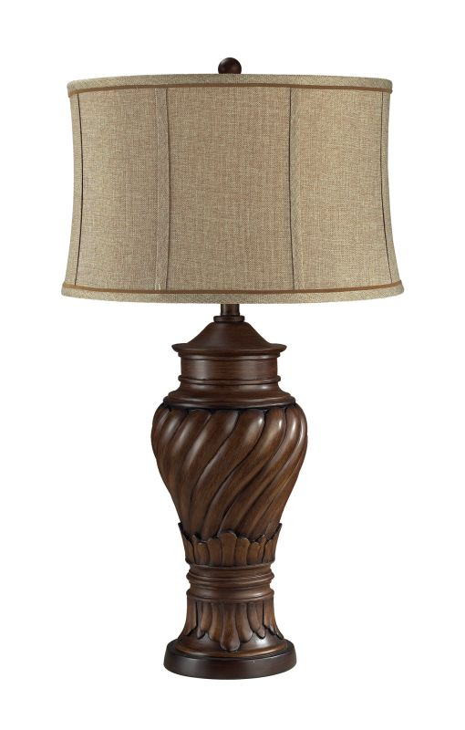 Dimond Lighting D2038 1 Light Table Lamp from the Commodore Collection