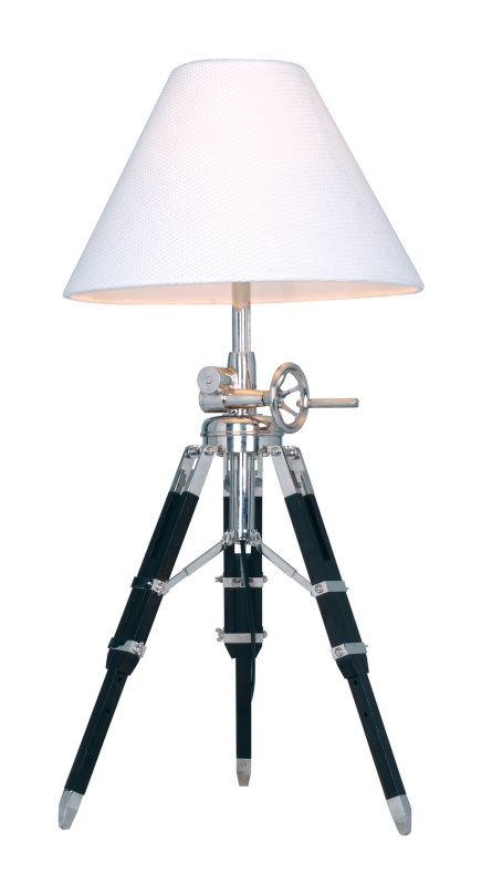 "Dimond Lighting D2124 1 Light 35"" Height Tripod Table Lamp from the"