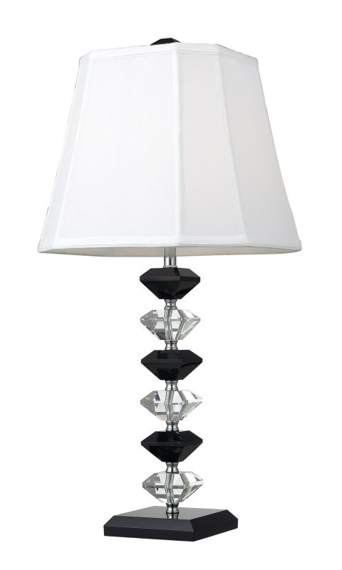 Dimond Lighting D2235 1 Light Table Lamp from the Montrose Collection