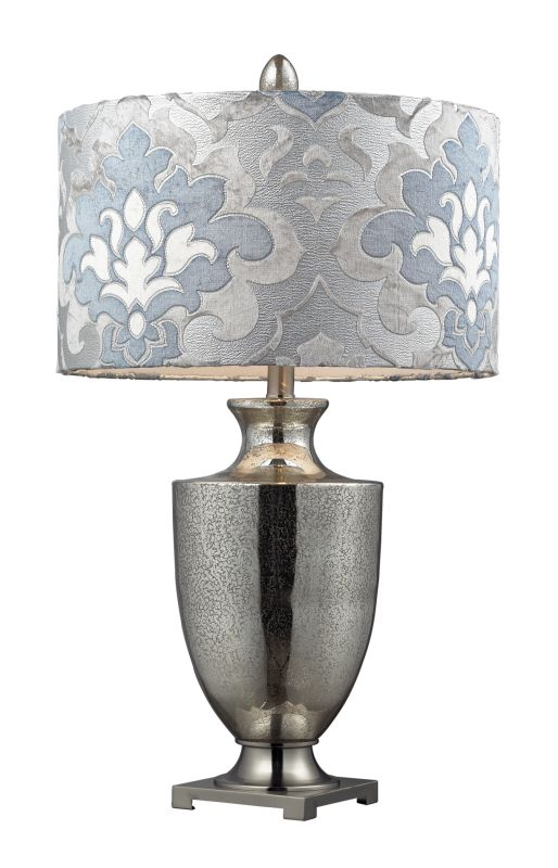 "Dimond Lighting D2248P 1 Light 31"" Height Table Lamp from the Langham"
