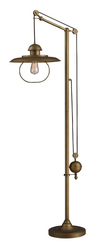 Dimond Lighting D2254 1 Light Swing Arm Floor Lamp from the Farmhouse Sale $558.00 ITEM: bci1860933 ID#:D2254 UPC: 748119032221 :