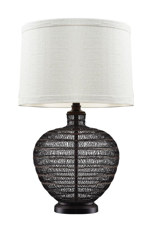 Dimond Lighting D2270 1 Light Table Lamp from the Lincoln Collection