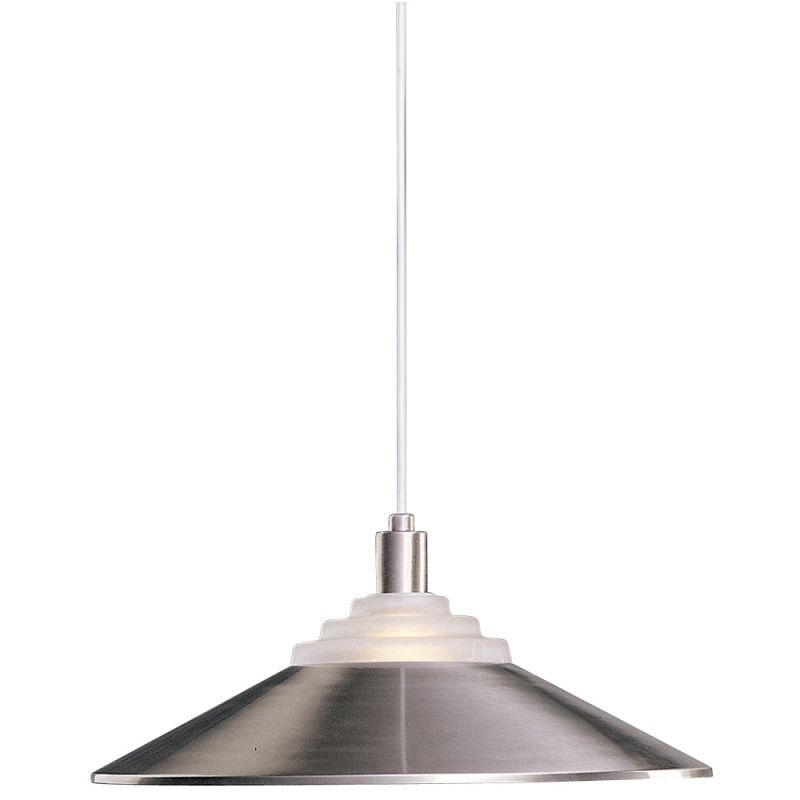 Dolan Designs 100 Style Down Light Pendant Satin Nickel Indoor