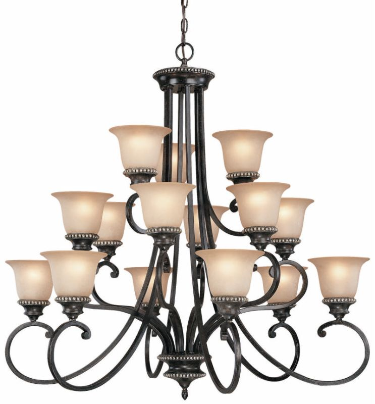 Dolan Designs 1753 15 Light Up Lighting Chandelier from the Hastings