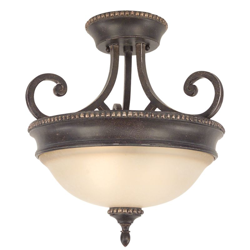 Dolan Designs 1754-148 Semi-Flush Ceiling Fixture from the Hastings