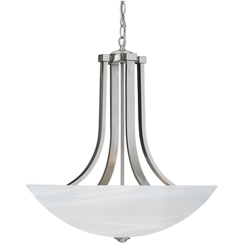 Dolan Designs 207 Fireside 3 Light Pendant Satin Nickel Indoor