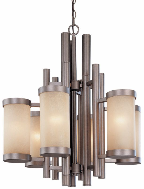 Dolan Designs 2620 6 Light Up Lighting Chandelier from the Cortona