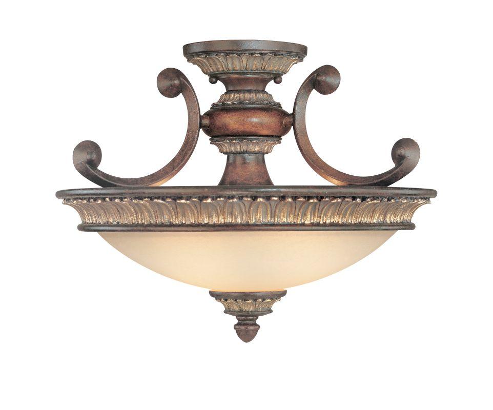 Dolan Designs 2645 Two Light Semi-Flush mount from the Bonita