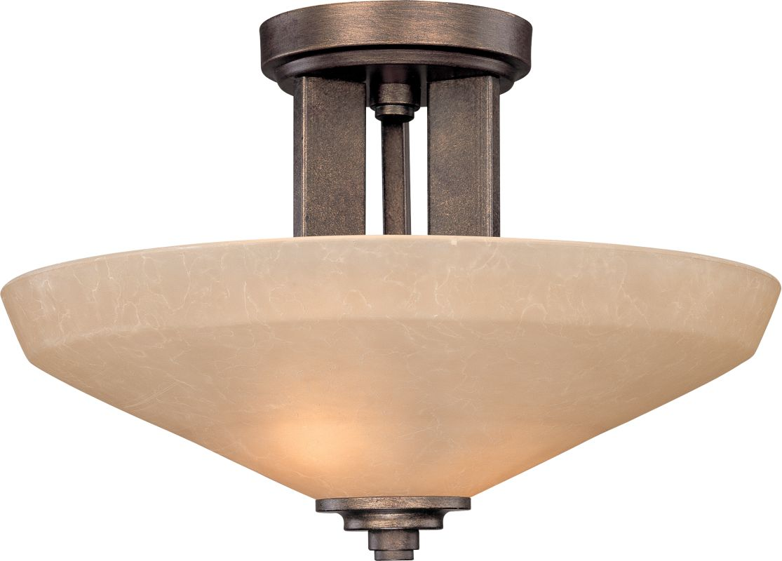 Dolan Designs 2705 2 Light Semi-Flush Ceiling Fixture with Harvest Sale $195.00 ITEM: bci253934 ID#:2705-90 UPC: 765641009088 :