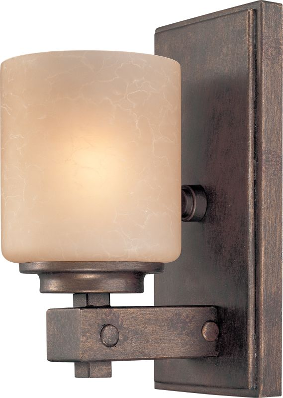 Dolan Designs 2706 1 Light Up Light Wall Sconce with Harvest Glass