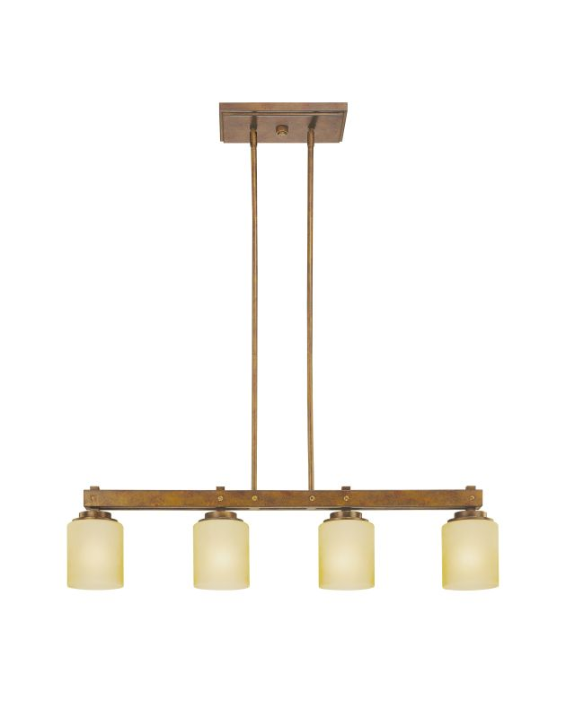Dolan Designs 2709 Sherwood Four Light Island Fixture Sienna Indoor