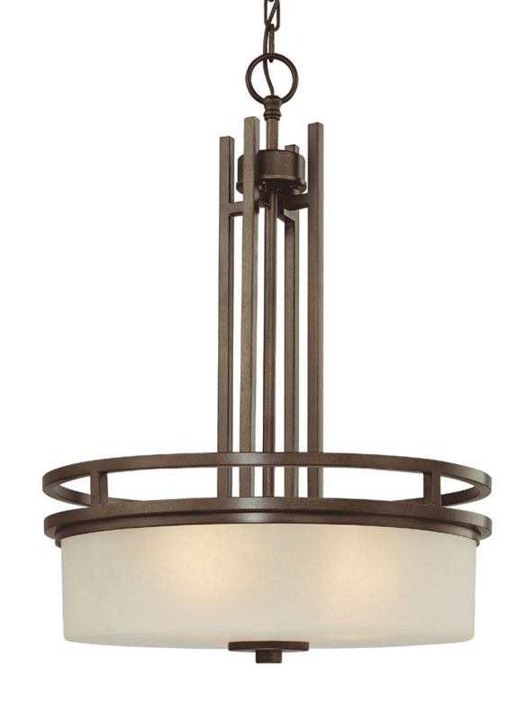 Dolan Designs 2884 Three Light Down Light Pendant from the Multnomah