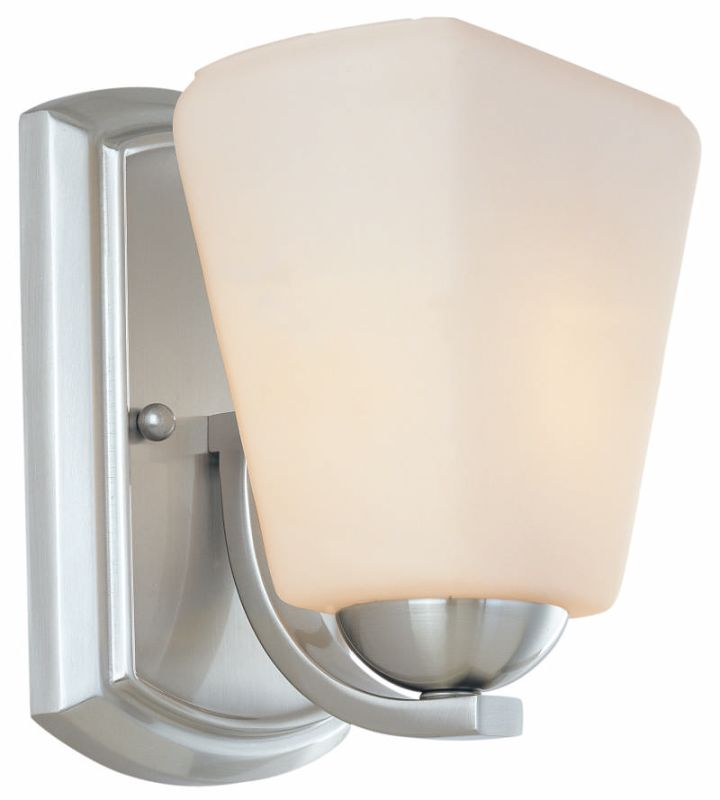 Dolan Designs 3371 Hammond 1 Light Wall Sconce Satin Nickel Indoor