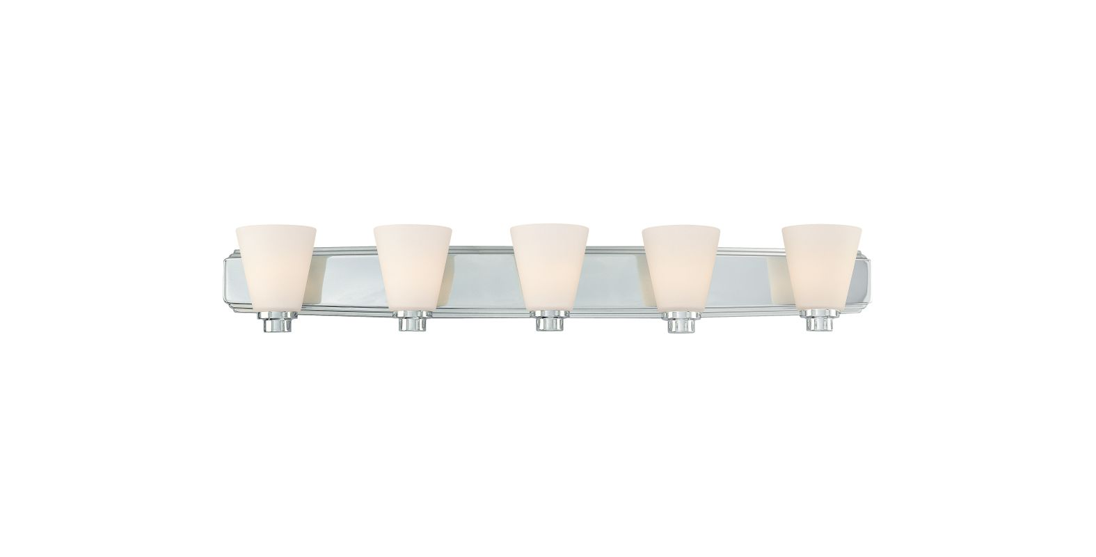 "Dolan Designs 3405 5 Light 40"" Wide Bathroom Fixture from the"