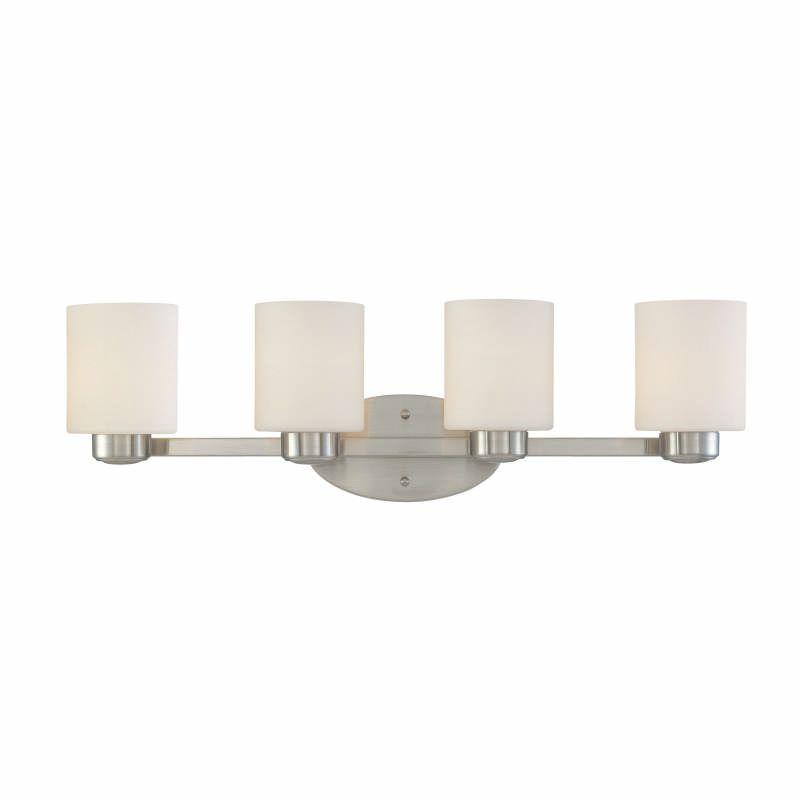 "Dolan Designs 3434 Brookings 4 Light 27"" Wide Reversible Mount Vanity Sale $237.00 ITEM: bci531402 ID#:3434-09 UPC: 765641010428 :"