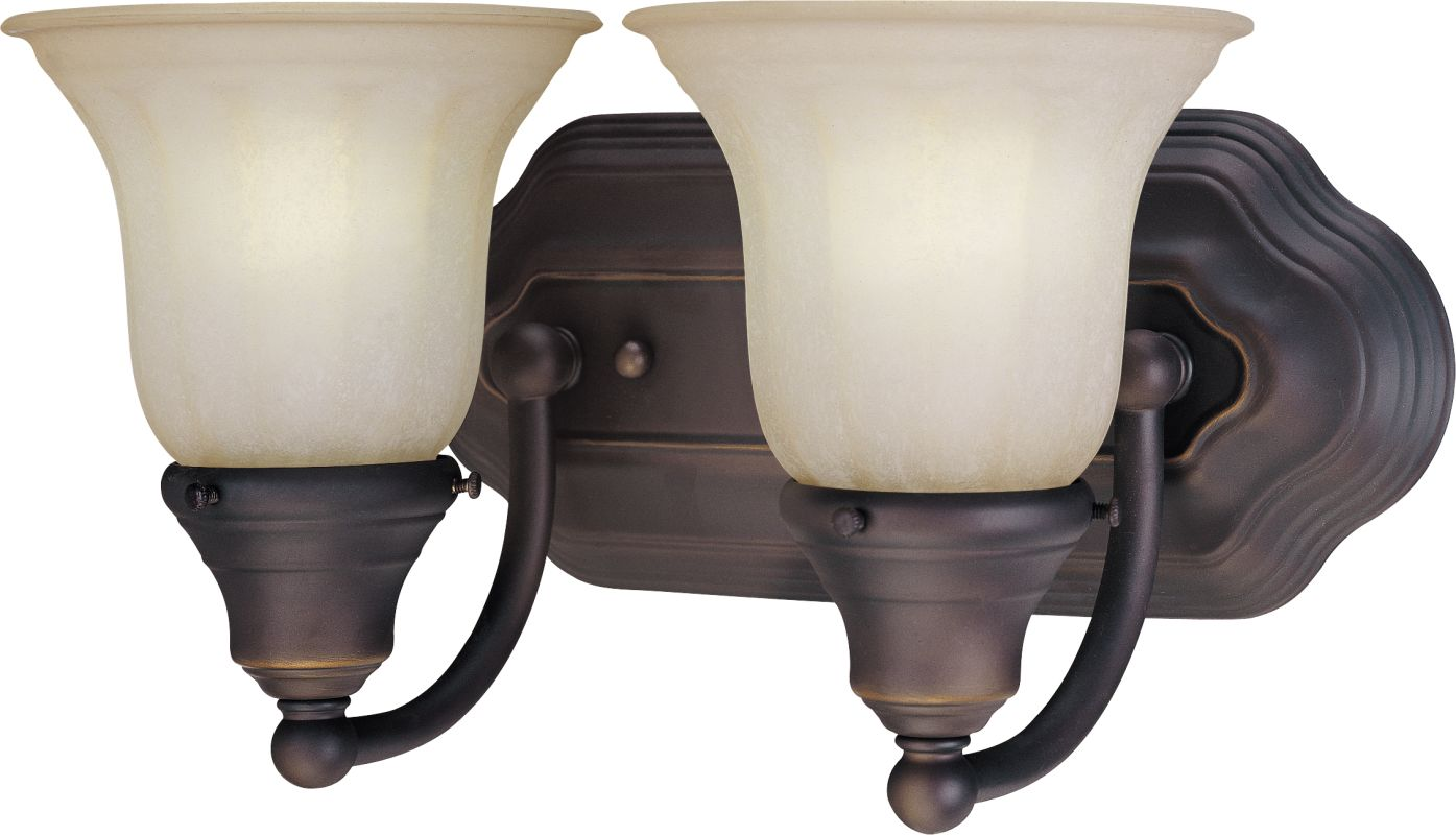 "Dolan Designs 468 2 Light 12.5"" Wide Bathroom Fixture Bolivian Indoor"