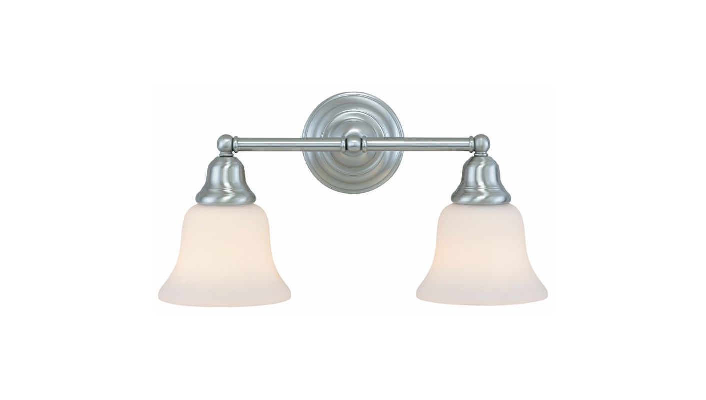 "Dolan Designs 492 2 Light 17.25"" Wide Bathroom Fixture from the"