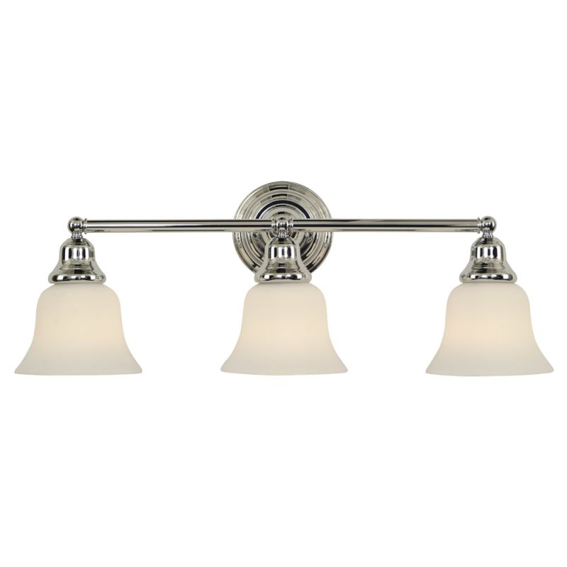 "Dolan Designs 493 3 Light 25"" Wide Bathroom Fixture from the Brockport"