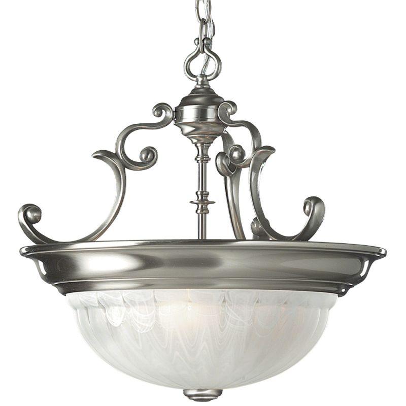 Dolan Designs 527 Pendant Light Satin Nickel Indoor Lighting