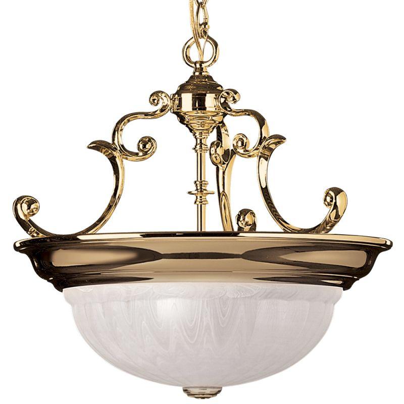 Dolan Designs 527 Pendant Light Polished Brass Indoor Lighting