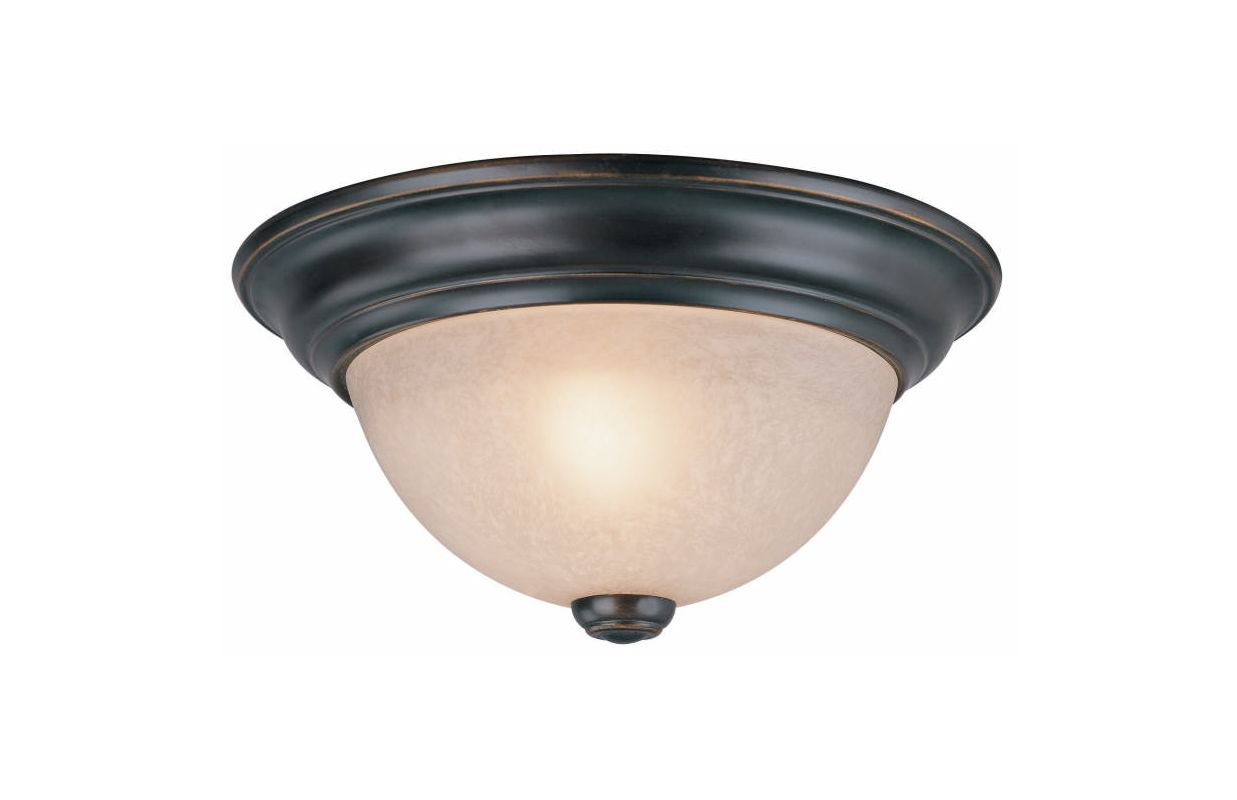 Dolan Designs 5371 One Light Dome from the Ceiling Collections