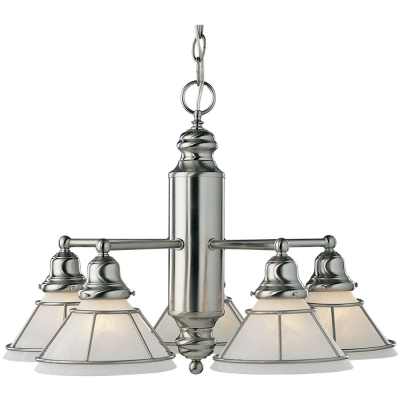 Dolan Designs 625 5 Light Down Lighting Chandelier from the Craftsman