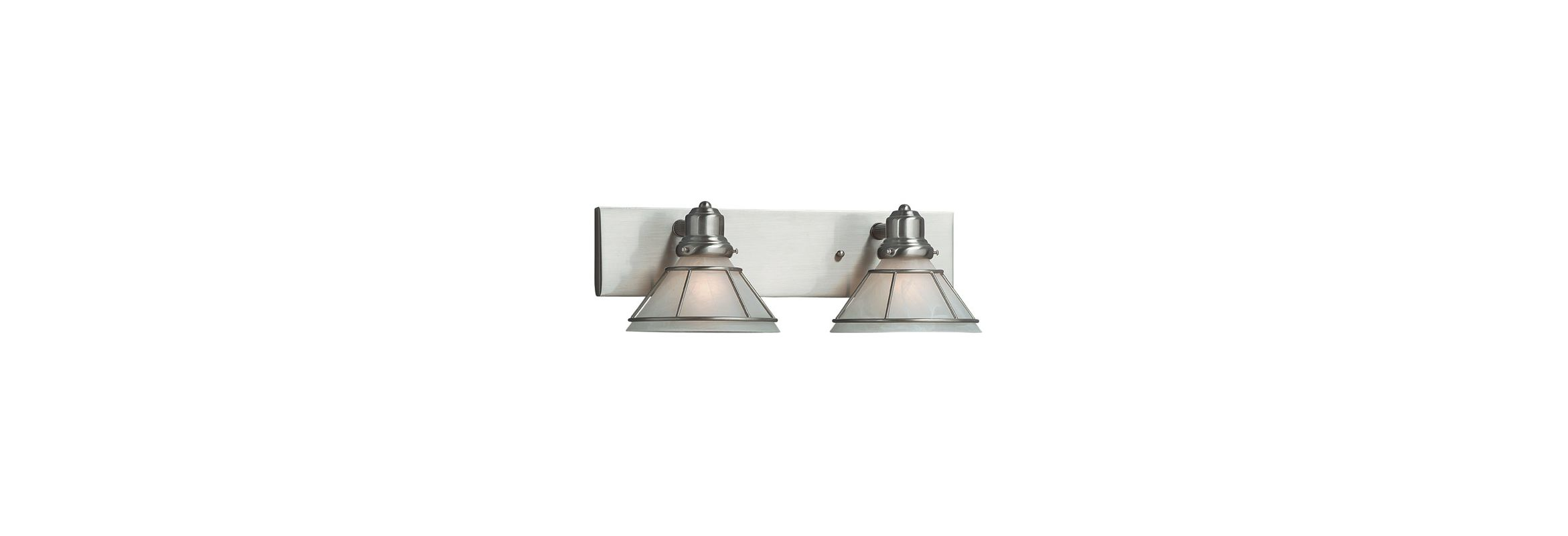 Dolan Designs 632 Bathroom Vanity Light Satin Nickel Indoor Lighting Sale $129.00 ITEM: bci92076 ID#:632-09 UPC: 765641632095 :