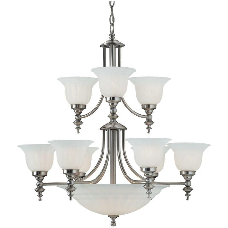Dolan Designs 664 14 Light Up / Down Lighting Chandelier from the Sale $483.00 ITEM: bci270147 ID#:664-09 UPC: 765641664096 :