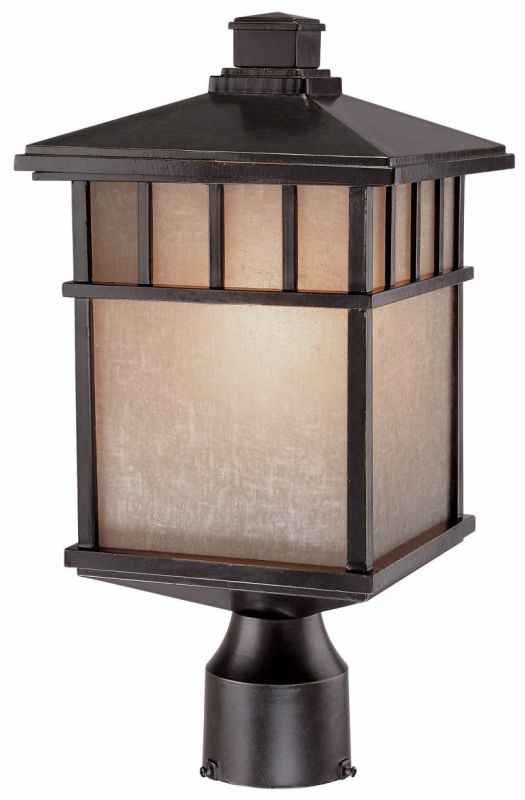 Dolan Designs 9116 Craftsman / Mission Single Light Small Outdoor Post