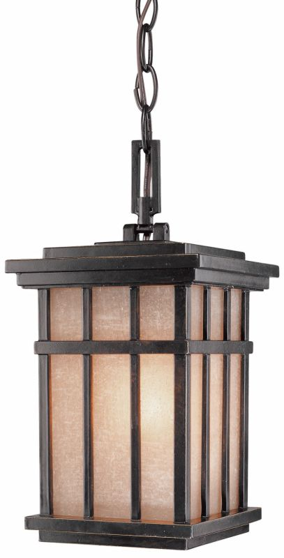 Dolan Designs 9143 Craftsman / Mission 1 Light Outdoor Pendant from