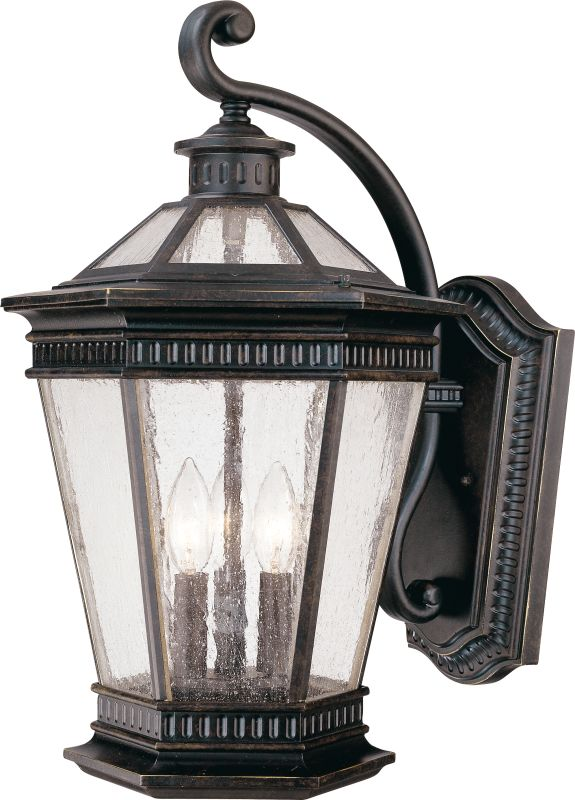 Dolan Designs 9198 3 Light Outdoor Wall Sconce with Seedy Glass Sale $193.00 ITEM: bci115027 ID#:9198-68 UPC: 765641009538 :